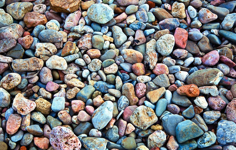 Photo wallpaper macro, stones, photo, stone, texture, texture, sea