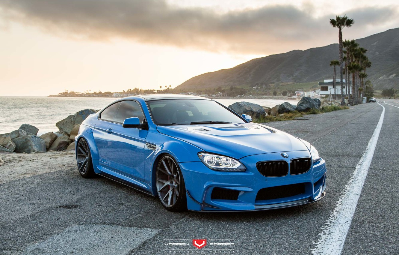 Photo wallpaper BMW, Design, Road, Widebody, 650i, Prior, Bimmerfest, Vossen Forged, Project - The