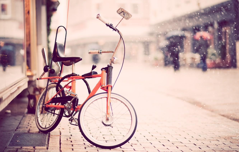 Photo wallpaper bike, street, children, photo, Faith Mazhiqi