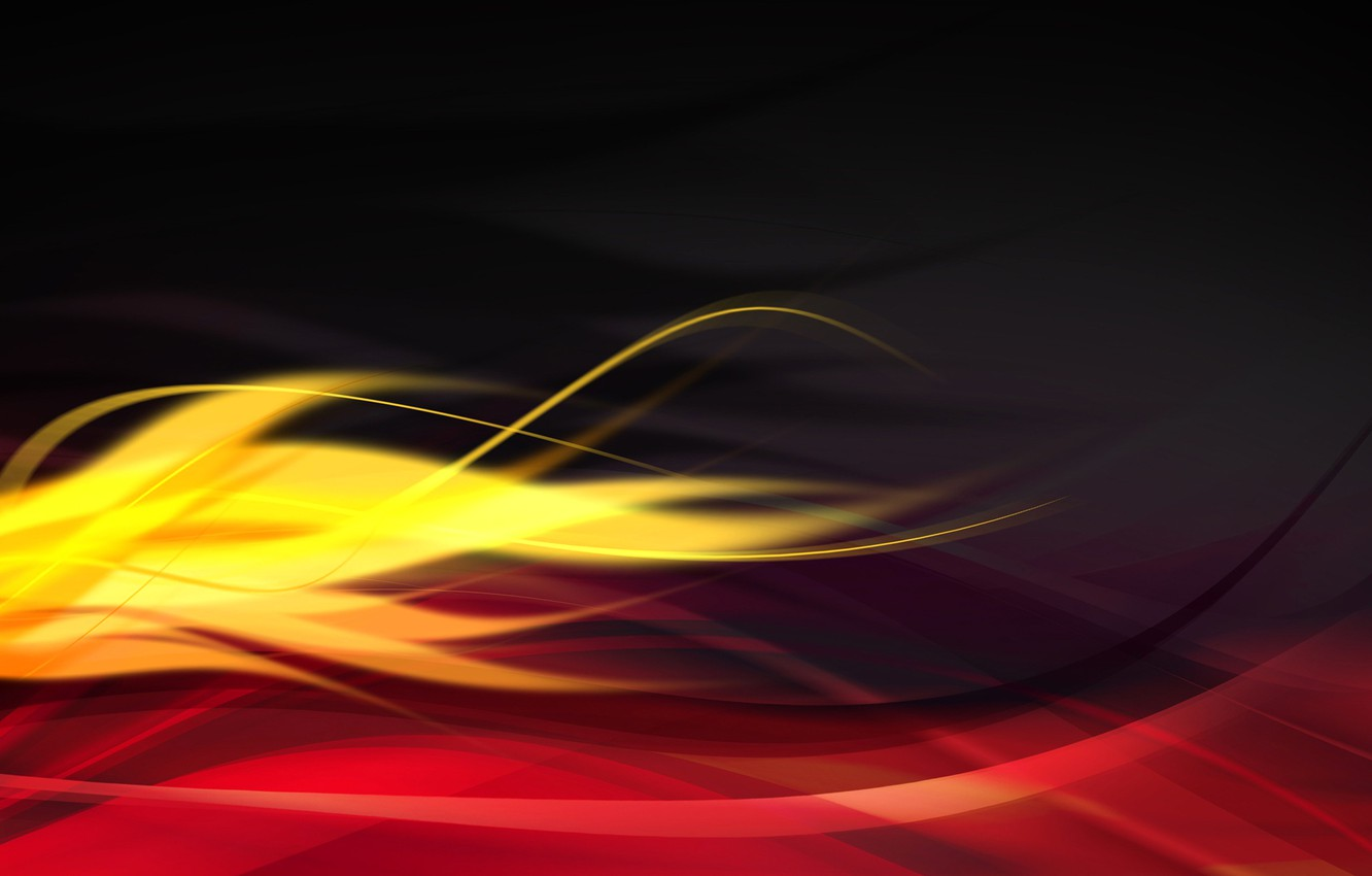 Photo wallpaper rays, line, fire, flame, paint, texture