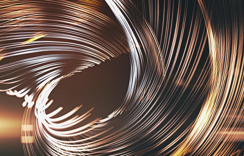 Photo wallpaper strip, divorce, sparks, Background, glows