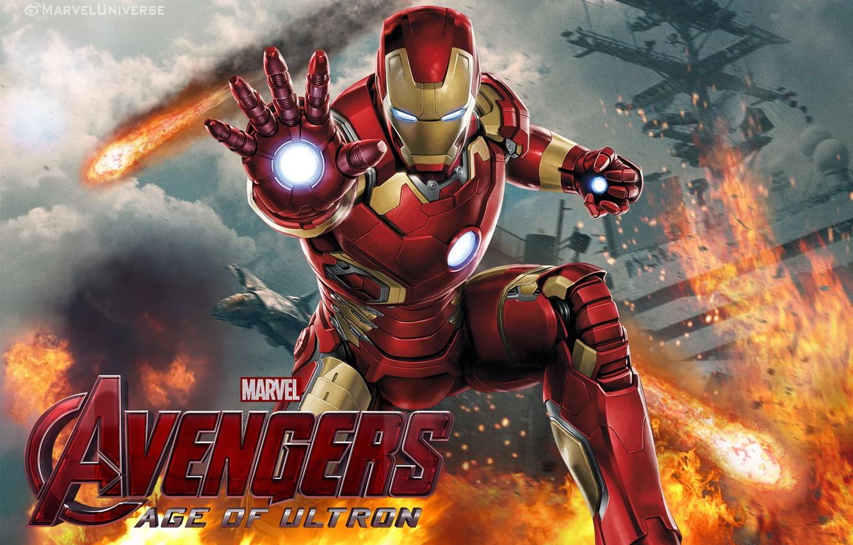 Wallpaper Iron Man Tony Stark Avengers Age Of Ultron The