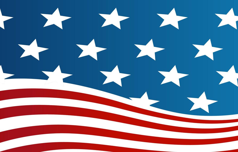 Photo wallpaper flag, flags, American flag, america, flag