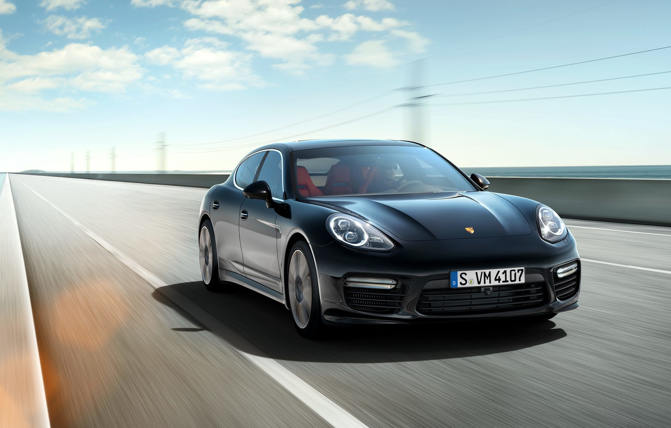 Photo wallpaper Porsche, Panamera, Porsche, Panamera, Turbo, 2014