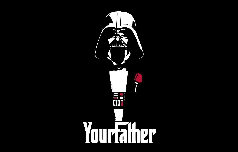 Wallpaper Darth Vader Your Father Art Star Wars Darth Vader