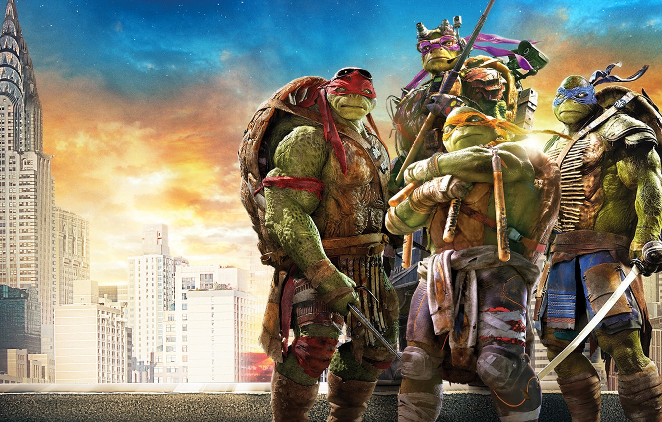 Wallpaper Teenage Mutant Ninja Turtles Tmnt Mike Leo Don