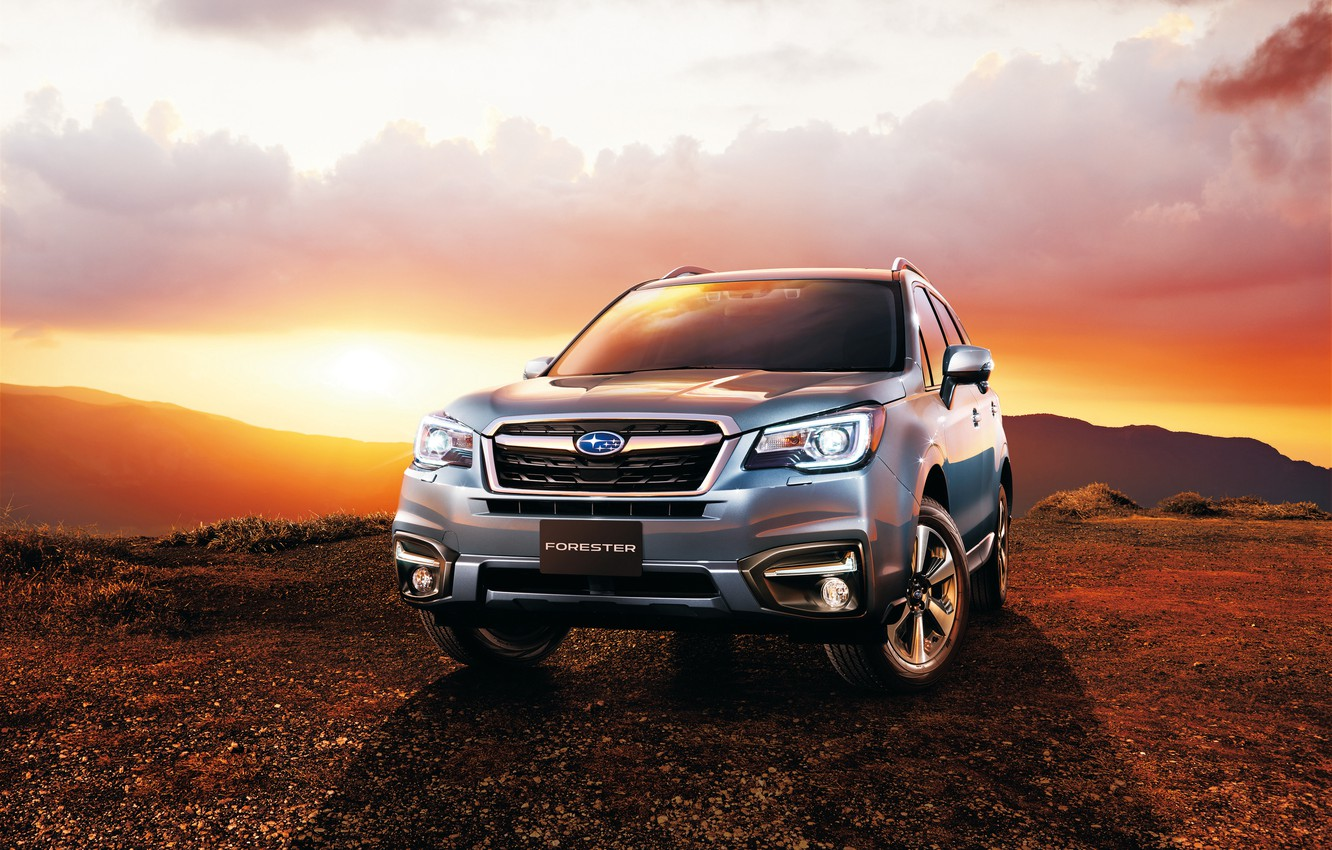 Photo wallpaper Subaru, Subaru, Forester, Forester