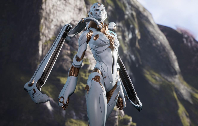 Wallpaper Girl Game Robot Android Mecha Woman Muriel