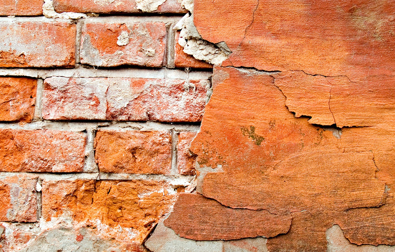 Photo wallpaper wall, brick, brightness