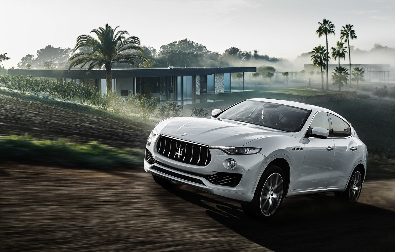 Photo wallpaper Maserati, Maserati, crossover, Levante, Levante