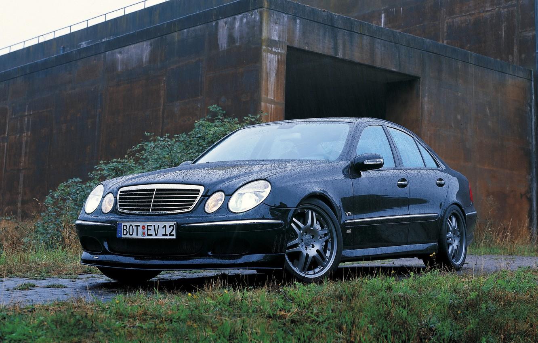 Photo wallpaper Mercedes-Benz, 2006, Brabus, W211, E-class