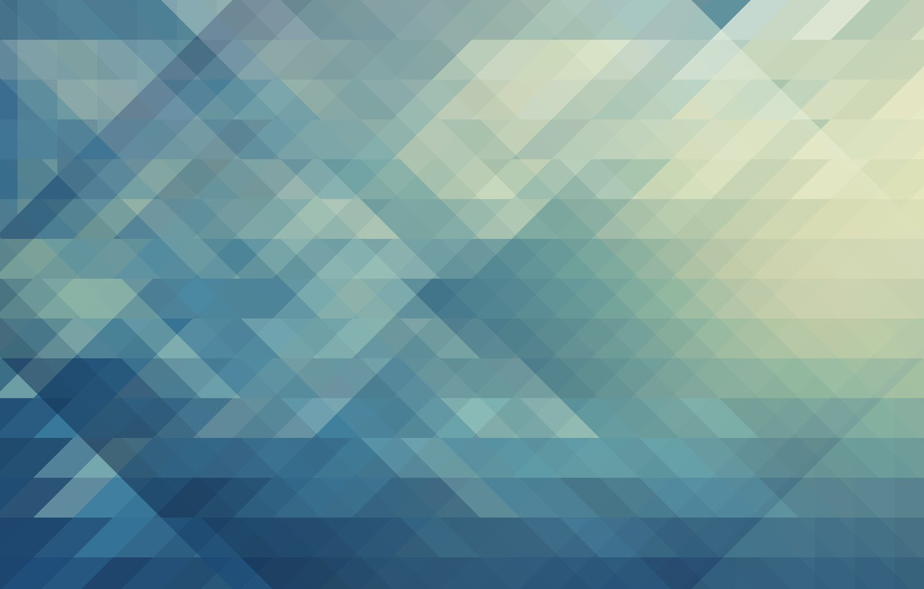 Photo wallpaper Minimalism, Squares, Abstraction, Patterns, Triangles, Pattern., Recursion
