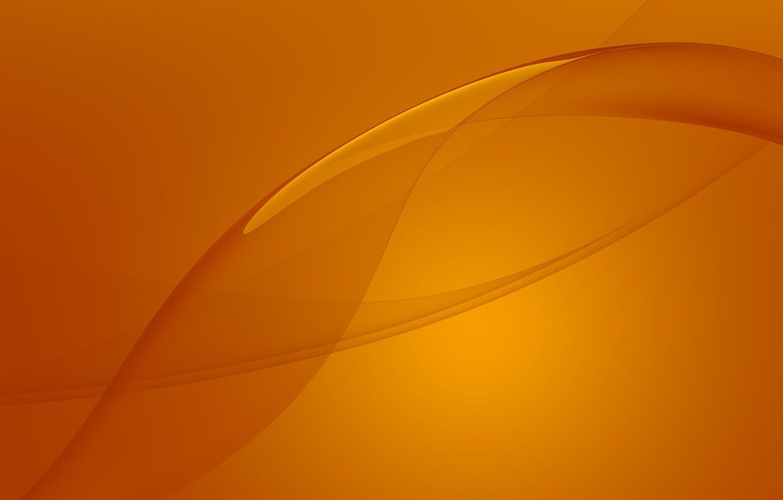 Photo wallpaper Orange, Sony, Wallpaper, Stock, Xperia, Experience