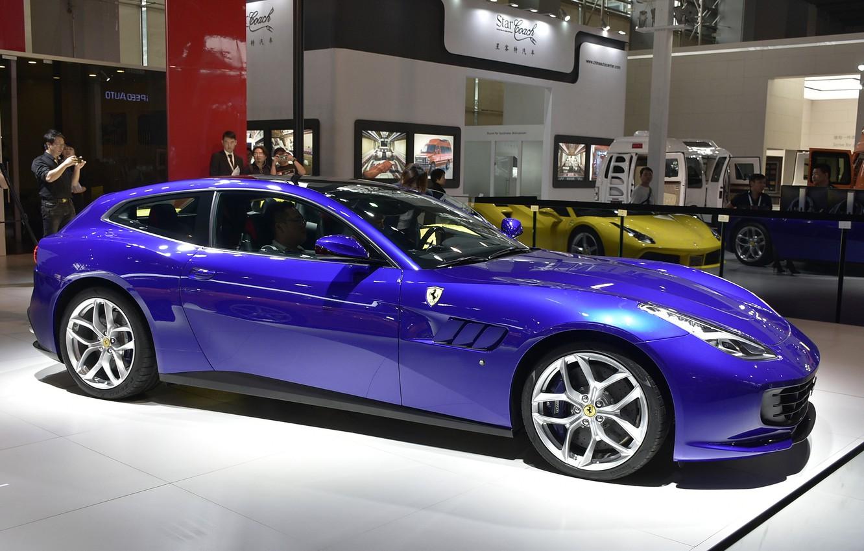 Photo wallpaper Ferrari, the dealership, Gran Turismo, Ferrari GTC4Lusso T
