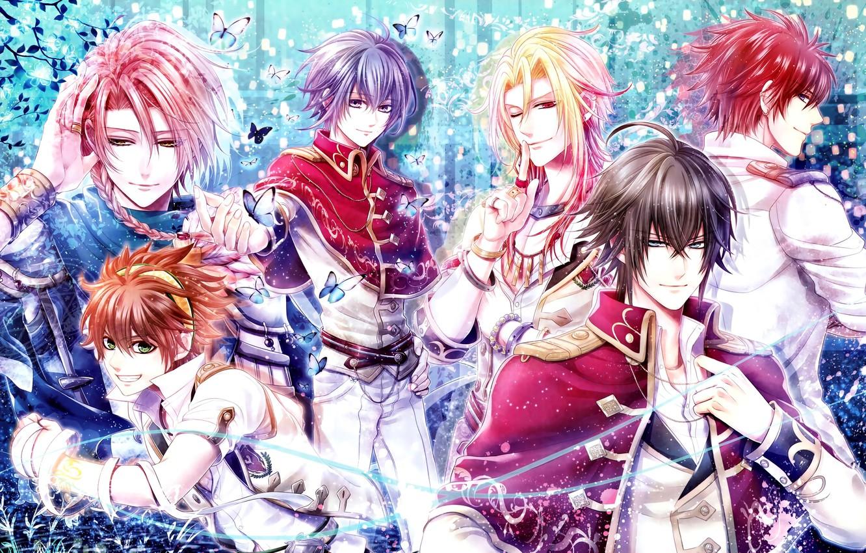 Photo wallpaper anime, art, guys, Senjou no Waltz