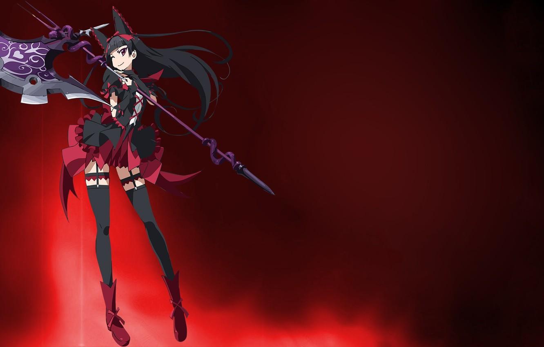 Wallpaper Girl Game Snake Anime Blade Asian Cute Warrior
