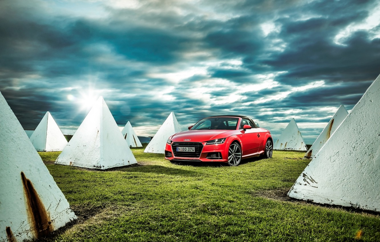 Photo wallpaper Audi, Audi, Roadster, Roadster, quattro, TFSI, AU-spec, 2015, S line