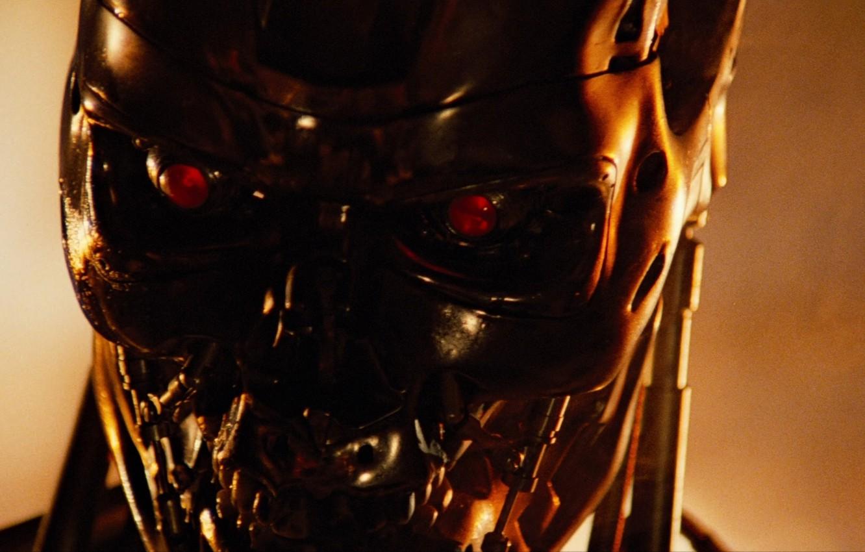 Wallpaper Steel Robot Terminator Cyborg Terminator 1984