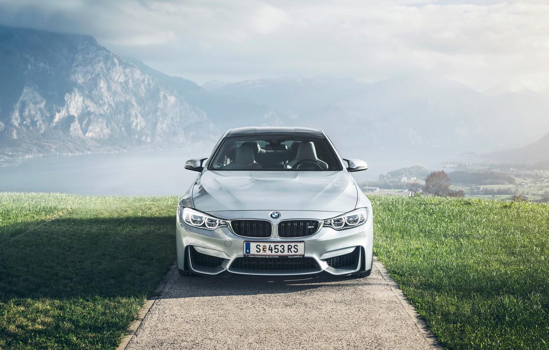 Photo wallpaper BMW, German, Car, Front, Sport, Austria, Fog