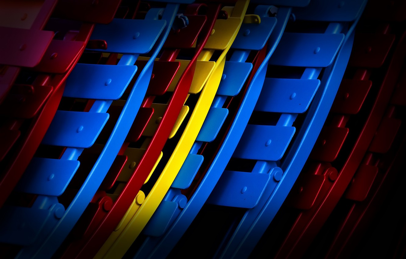 Photo wallpaper background, color, chairs