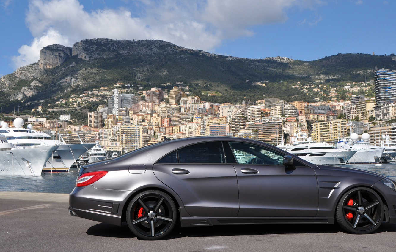 Photo wallpaper Mercedes-Benz, CLS, class