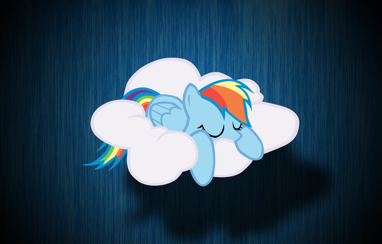 Wallpaper Cloud My Little Pony Rainbow Dash Mlp Rainbow Dash