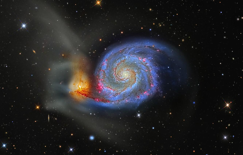 vodovorot m 51 galaktika v