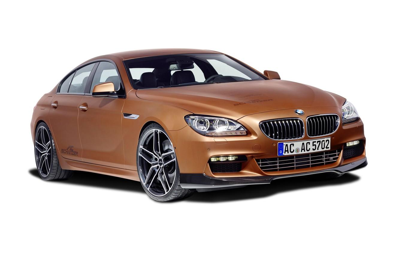 Photo wallpaper background, BMW, BMW, Gran Coupe, AC Schnitzer, F06, 2015, 6-Series