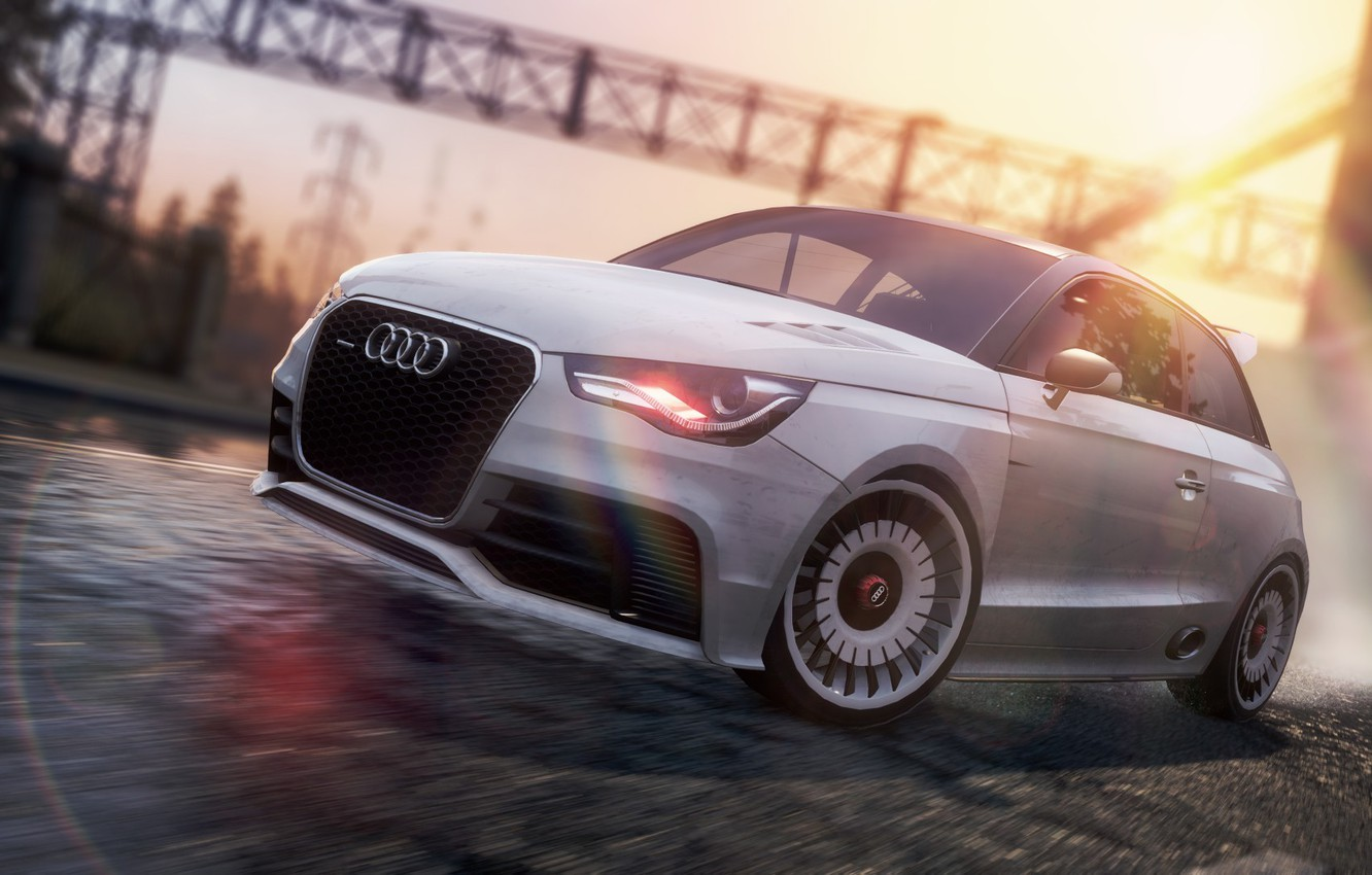 Wallpaper Race Car Need For Speed Most Wanted 2 Audi A1