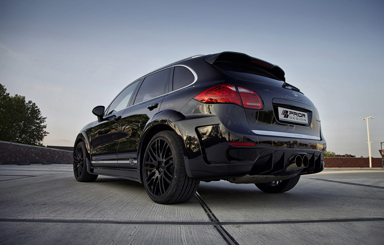 Photo wallpaper Porsche, Cayenne, Prior Design