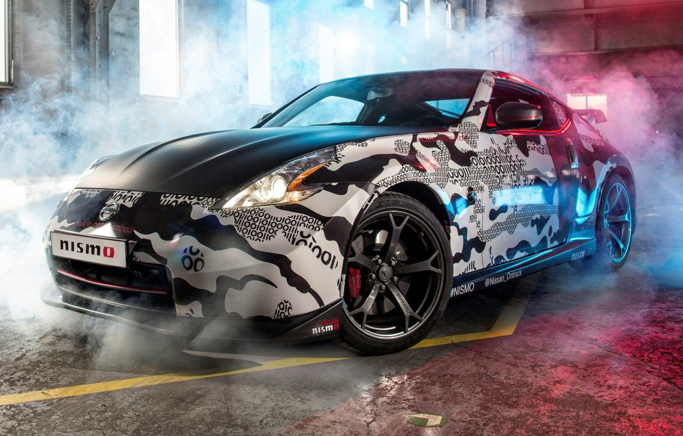 Photo wallpaper tuning, Nissan, Nissan, tuning, the front, Rally, 370Z, NISMO, NISMO, Gumball 3000