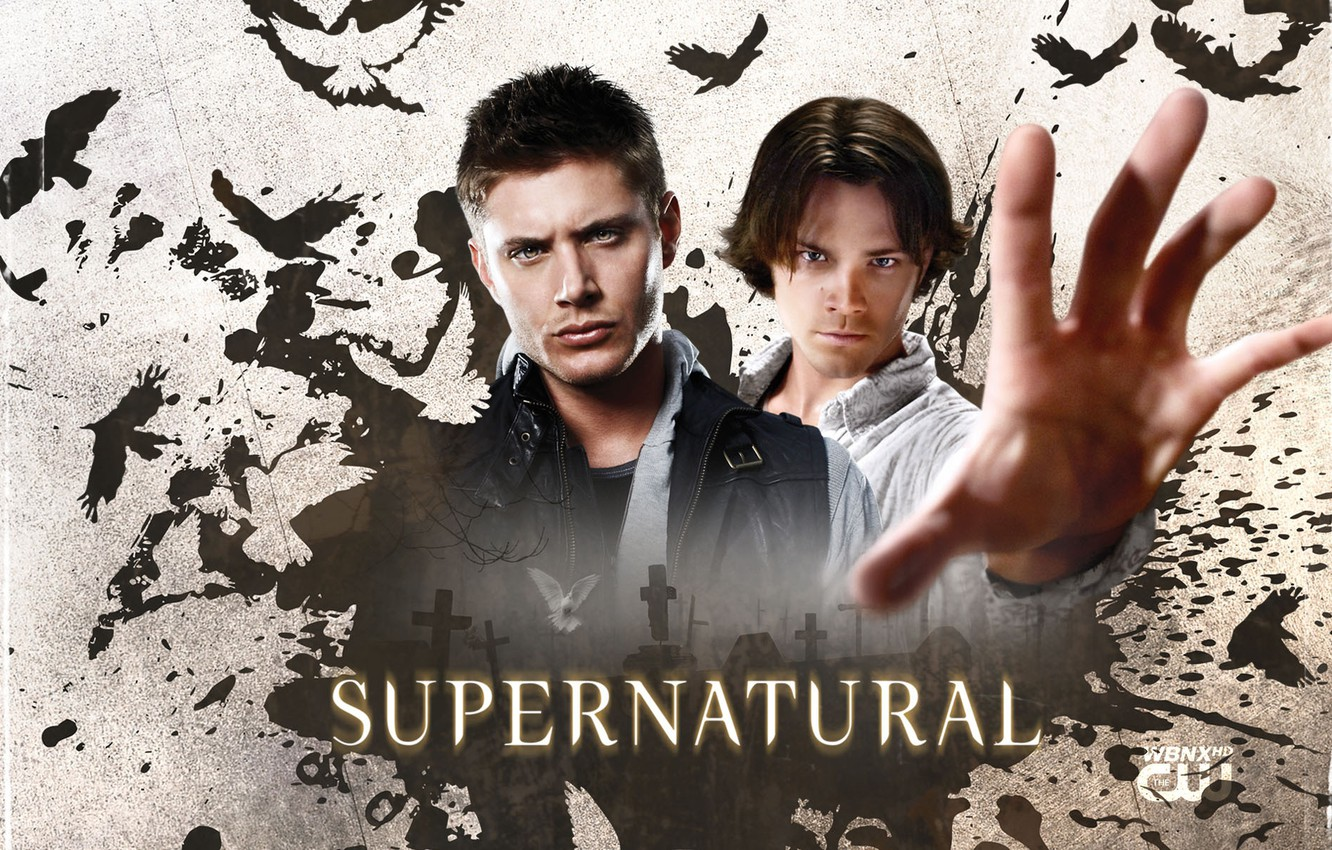 Photo wallpaper the series, guys, brothers, men, supernatural, supernatural, jensen ackles, Jensen ackles, Dean and Sam Winchester, …