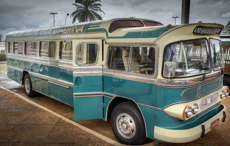 Photo wallpaper bus, classic, GMC, 1951, ODC-210