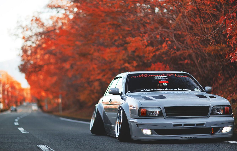 Photo wallpaper toyota, crown, Toyota, crown