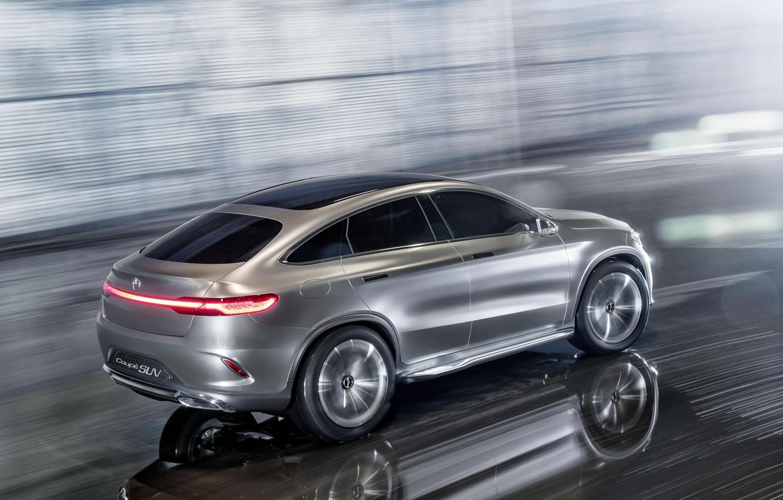 Photo wallpaper Mercedes-Benz, SUV, 2014, Concept Coupe