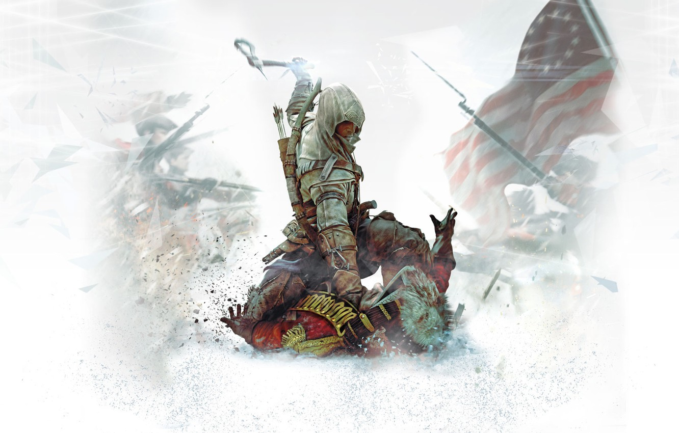 Photo wallpaper killer, ubisoft, assassin, assassins creed, Desmond, Assassin's Creed III, Radunhageydu, Connor, assassin's creed