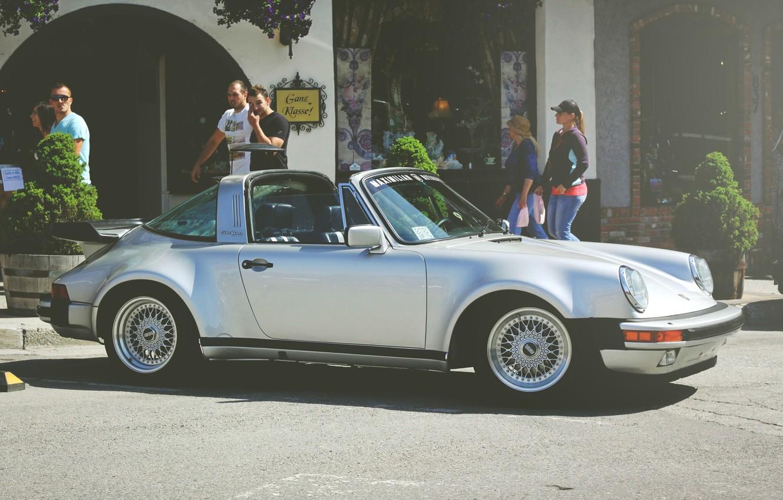 Photo wallpaper 911, Porsche, cabrio