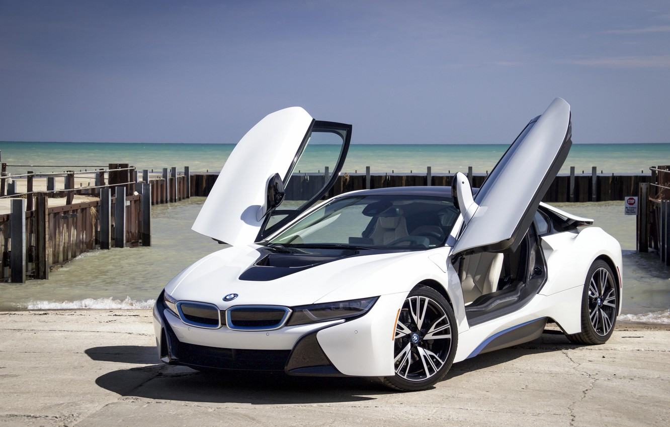 Wallpaper Sea Coupe Pier Sports Car Sports Car Bmw I8 Images