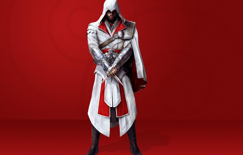 Photo wallpaper knives, cloak, brotherhood, creed, assassins