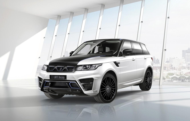 Photo wallpaper car, tuning, jeep, SUV, Range Rover, tuning, rechange, Sport, Larte Design