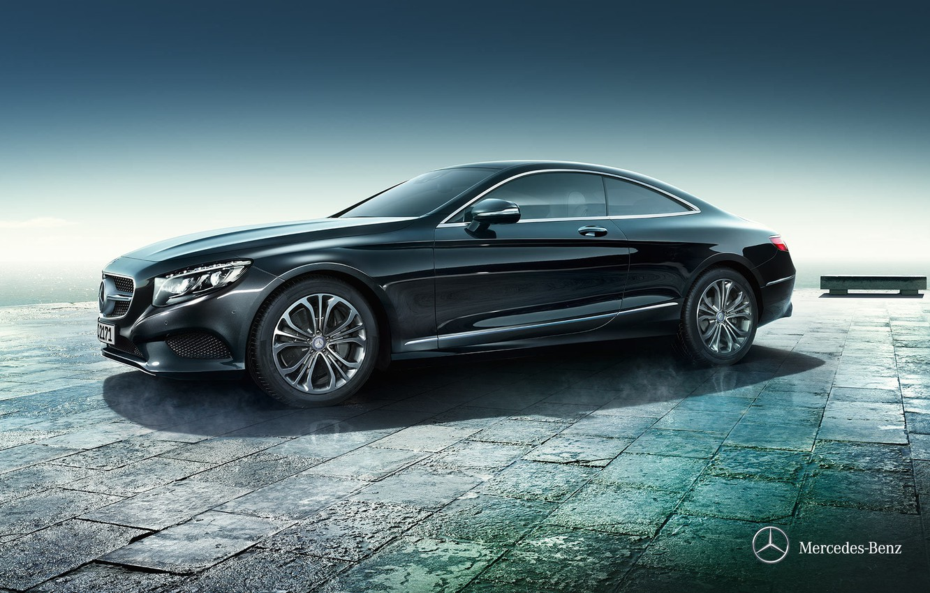 Photo wallpaper coupe, Mercedes-Benz, Mercedes, Coupe, 2014, S-Class, C217