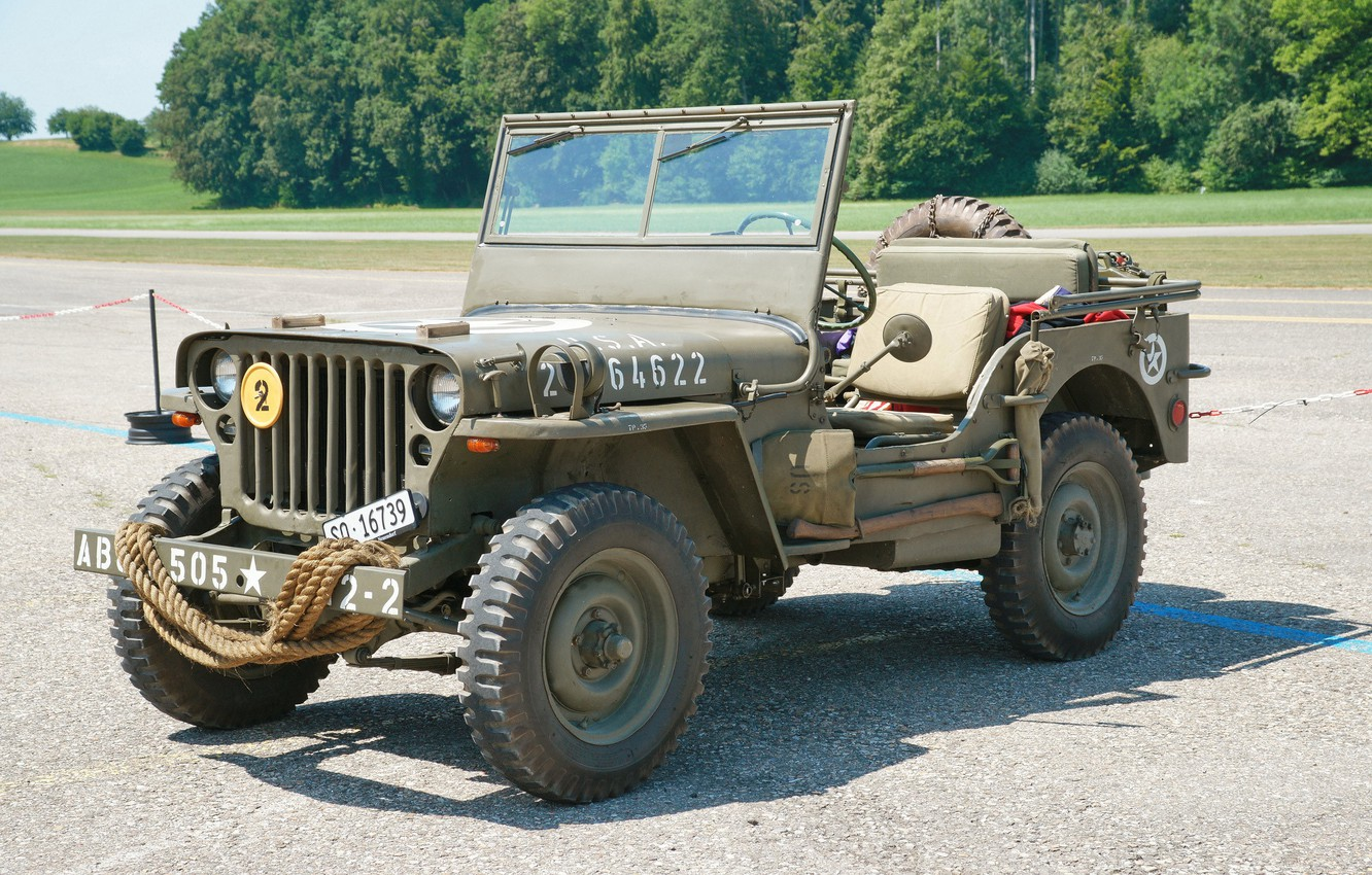 """Photo wallpaper road, war, car, army, Jeep, high, patency, world, Second, times, """"Willis-MV"""", Willys MB"""