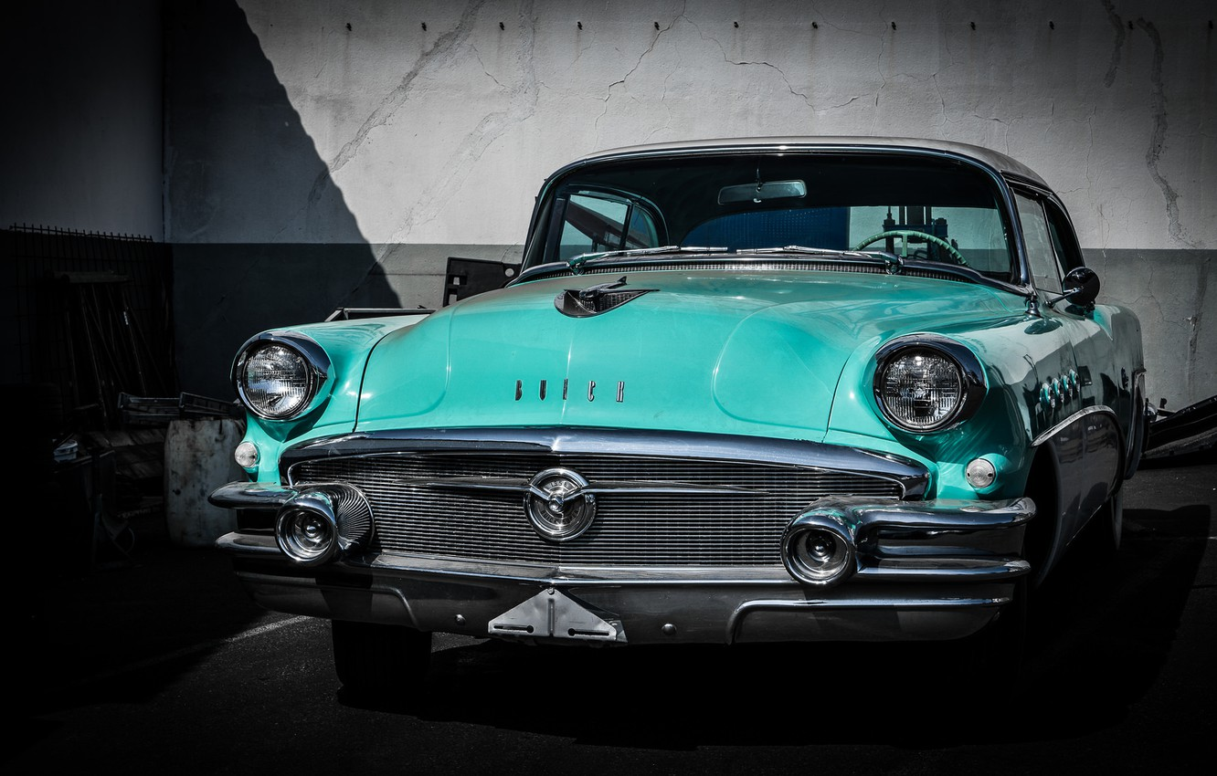 Photo wallpaper retro, Buick, car, classic, the front, Buick