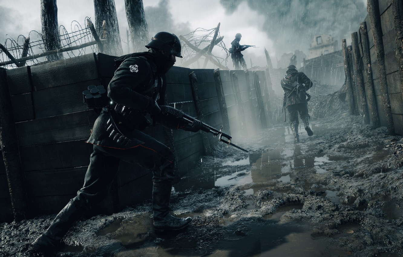 Wallpaper Game, Electronic Arts, DICE, Frostbite, Battlefield 1