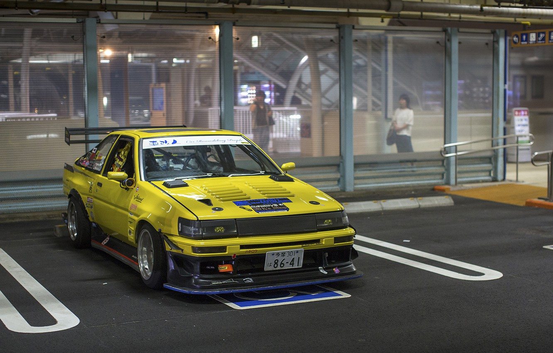 Photo wallpaper toyota, corolla, ae86, Toyota, Corolla