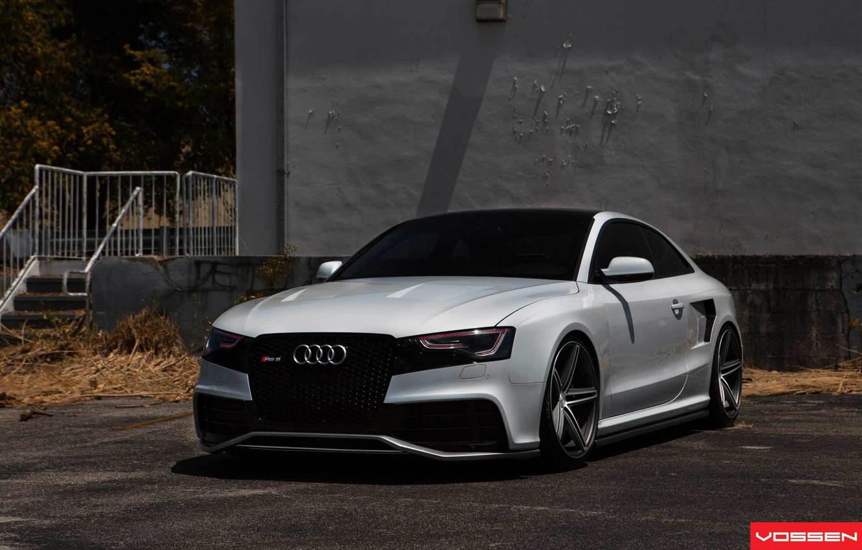 Photo wallpaper Audi, Audi A5, drives, vossen
