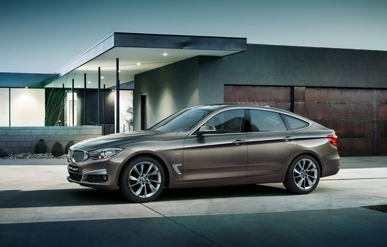 Photo wallpaper BMW, BMW, 3 series, Gran Turismo, Gran Turismo, 2015