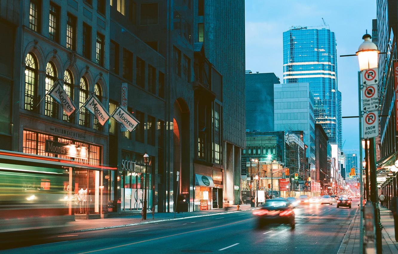 Wallpaper Canada Toronto Street Photography Yonge Street