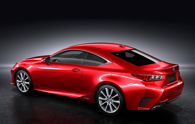 Photo wallpaper Lexus, red, 300h, jp-spec