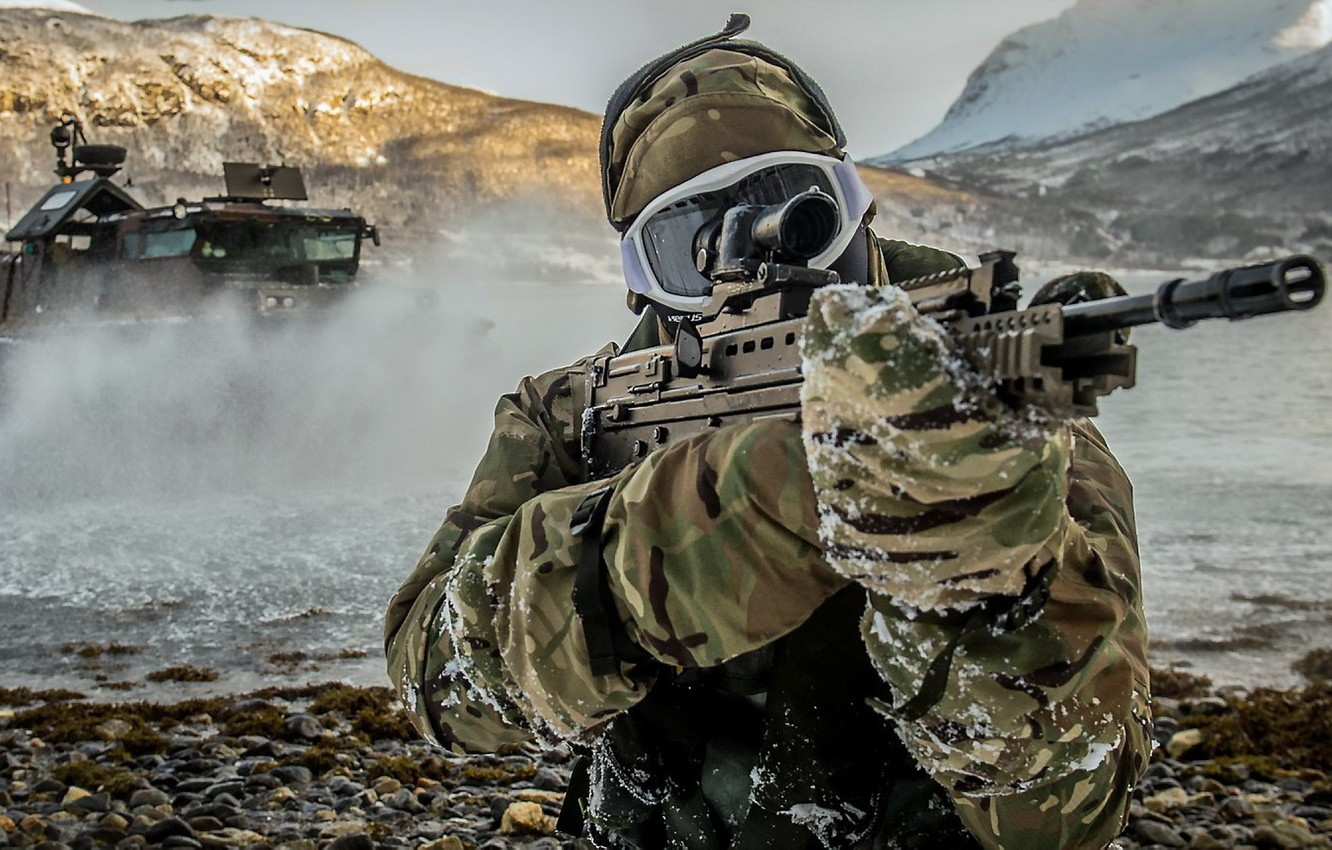 Wallpaper Weapons Army Soldiers Royal Marine Assault Squadron